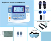 EA F29 Medical ultrasound machine equipamento laser acupuntura physiotherapy equipment tens with acupuncture laser