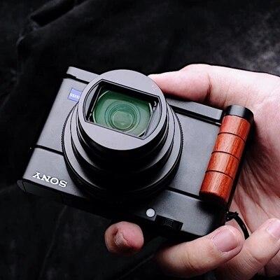 цена на Quick Release L Plate/Bracket Holder hand Grip L-Shaped for Sony RX100 II RX100 III RX100 M3 M4 M2 M5 M6 RX100 IV RRS SUNWAYFOTO