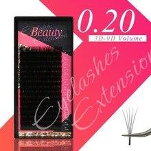 klacuva korean individual eyelashes for professionals makeup classic lash extensions handmade hybrid lashes
