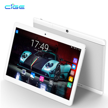 Free Sshipping Android 7.0 Octa Core 10 inch Tablet PC 4GB+64GB 5MP WIFI GPS 3G WCDMA Dual Cameras and SIM Slots 1920*1200+Gifts