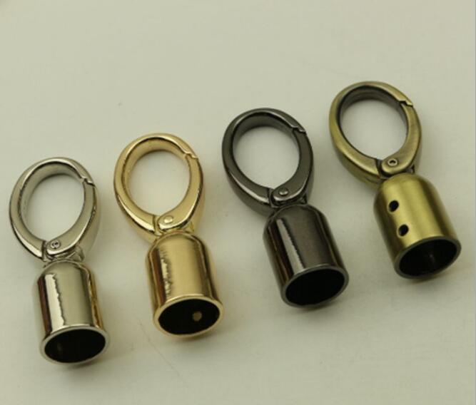 все цены на (10 pieces/lot) DIY Handbag Decorative Leather Rope/Tassel Bell Spring Opening Bag Hook Hardware Accessories