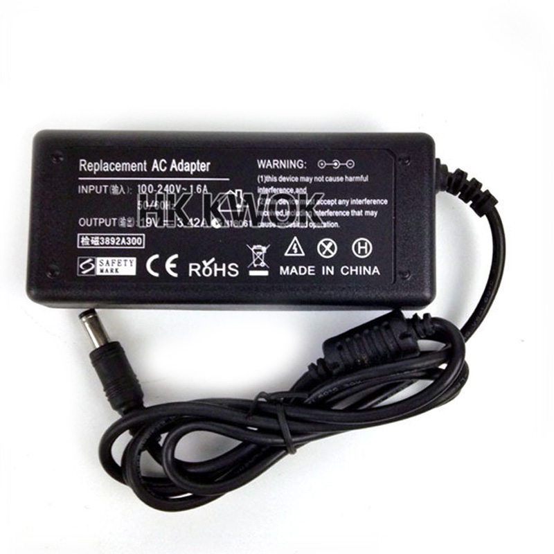 2016 New 5pcs 19V 3 42A AC Power Adapter Charger For ACER Gateway Notebooks Power Supply