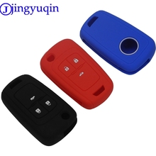 jingyuqin 3B Silicone Key cover For Chevrolet Regal Lacrosse Encore Excelle GT/XT /Opel Astra VAUXHALL MOKKA Zafira For Buick