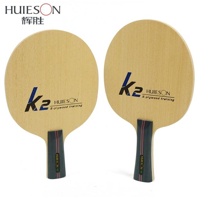 US $8 65 |Huieson Professional Table Tennis Training Blade Ultralight 5 Ply  Poplar Wood Ping Pong Paddle Table Tennis Accessories K2-in Table Tennis