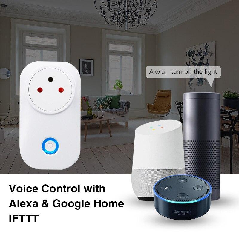 HTB1zutMbzzuK1RjSspeq6ziHVXaf - FrankEver Tuya Cloud 10A 16A WiFi Smart Socket Power Israel Monitor Wireless Plug Work With Alexa Google Home Smart Household