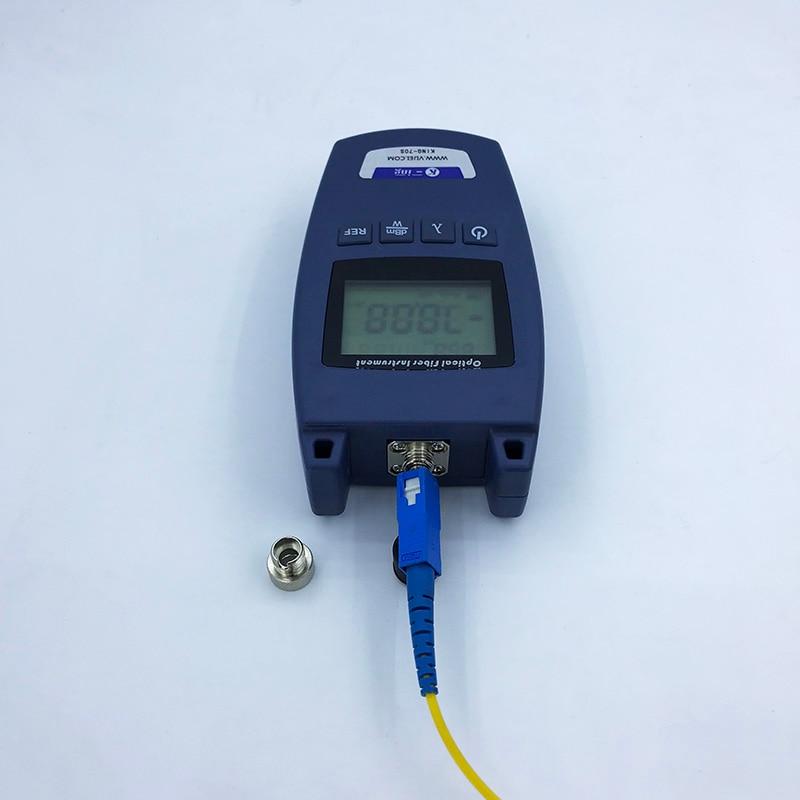 Ftth KING-70S Fiber Optische Power Meter Glasvezel Kabel Tester -70dBm ~ + 10dBm Universele Interface 4