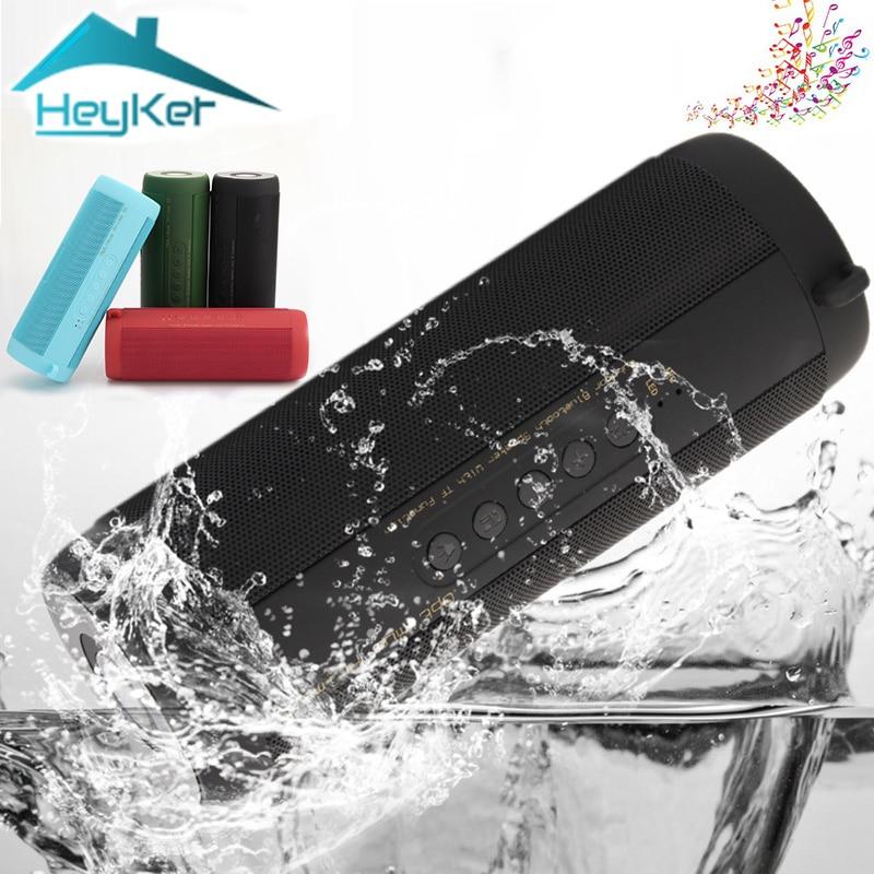 Original T2 Wahre Wireless Bluetooth Lautsprecher Wasserdichte Portable Outdoor Mini Blutooth Spalte Lautsprecher Unterstützung TF karte FM Boombox