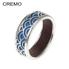 Cremo Rainbow Rings For Women Interchangeable Design Hollow Ring Elegant Bijoux Femme Finger Argent High Polished Bague