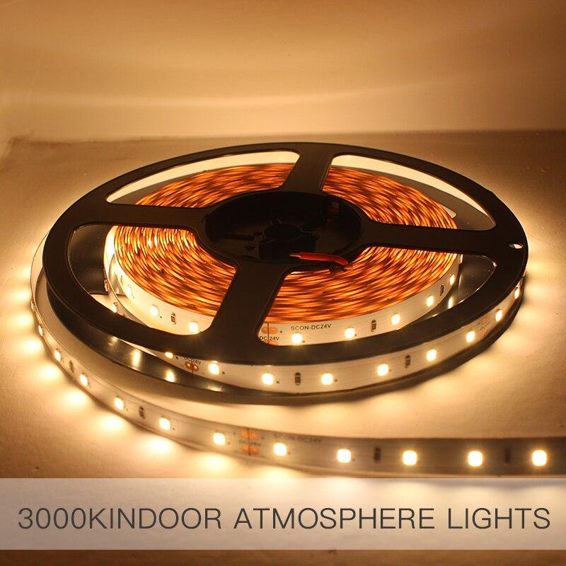SCON 24V LED 10m line light strip patch ceiling dark trough CRI Ra 90 CCT 3000K