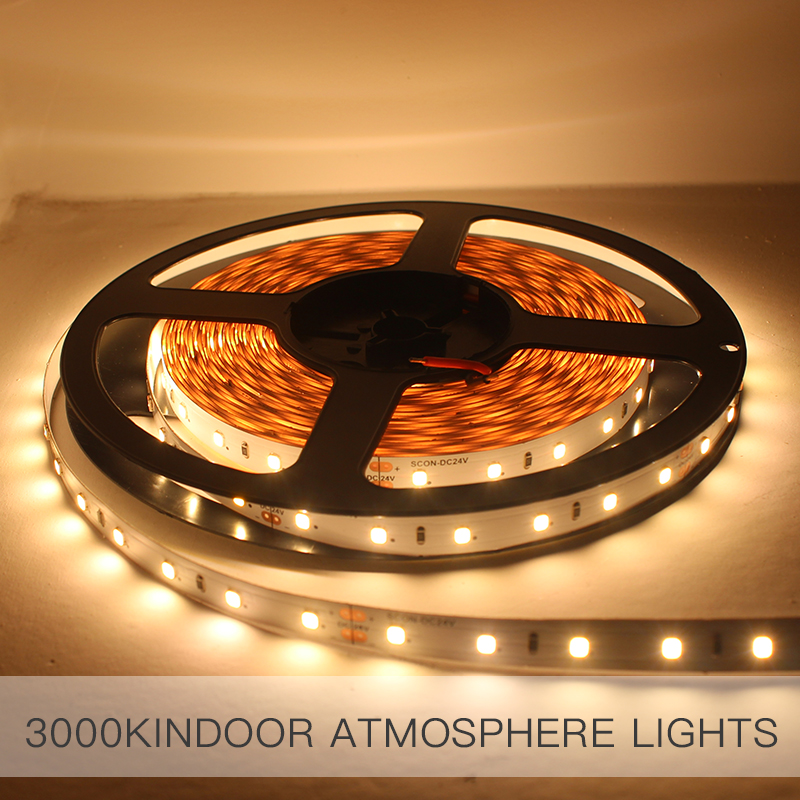 SCON 24V LED 10m line light strip patch ceiling dark trough CRI Ra>90 CCT 3000K 4000K Modern commercial place indoor line lamp цена 2017