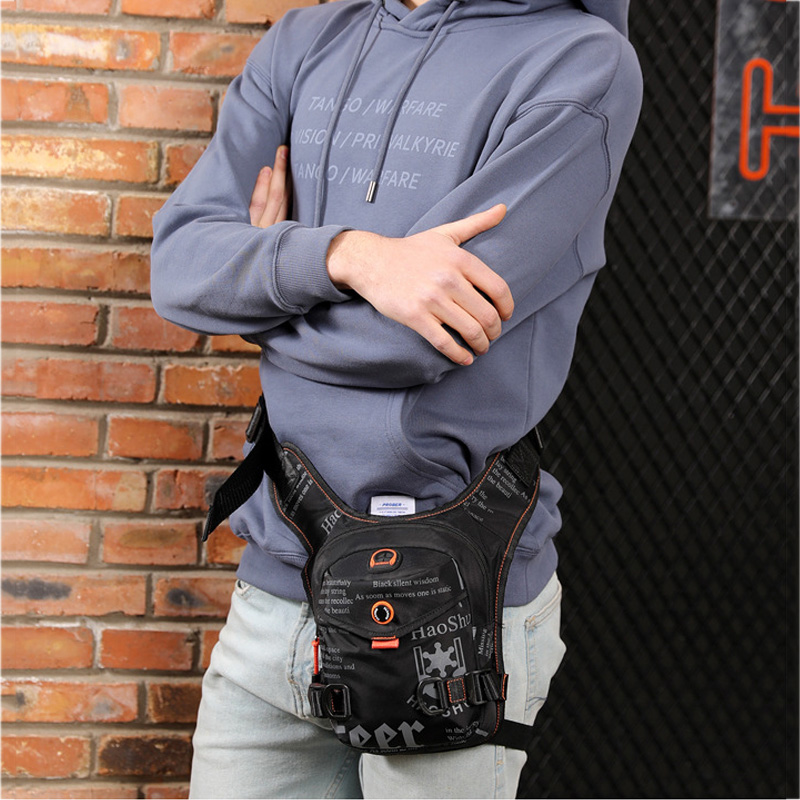 Lixada Beintasche Motorrad Herren Drop Bein Tasche Leg Bag Fahrrad Outdoor Casual Waist Pack Oberschenkeltasche