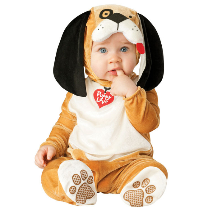 Spring Comfy Deluxe Plush Adorable Child Halloween Costume For Toddler Kids Lion Dog Monkey Tiger Favorite Cartoon Dress-up
