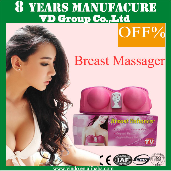 Sexy Chinese Female Best Videos Beauty Machine Electric Nipple Vibrating Breast Massage