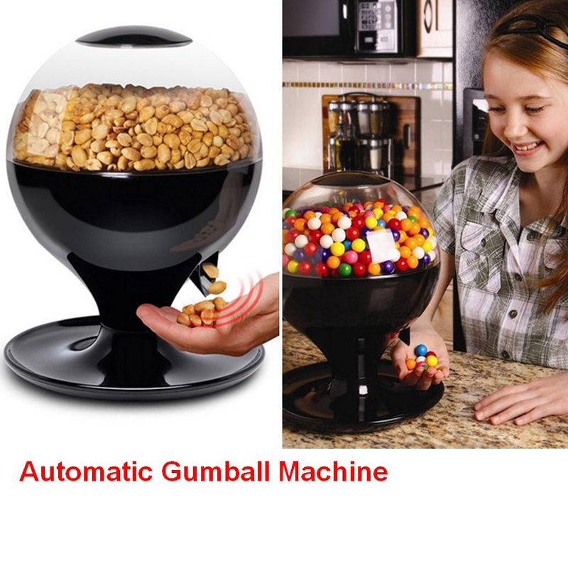 Wedding Candy Dispenser Automatic Sensor ABS Vintage Gumball Mini Bubble Gum Candy Machine Candy Dispenser Candy Box