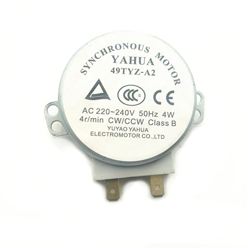Microwave Oven Synchronous Motor 49TYZ-A2 AC 220-240V CW/CCW 4W 4 <font><b>RPM</b></font> Metal Synchronous Motor For Microwave Oven image