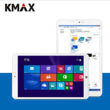 KMAX Tableta de 8 pulgadas IPS Quad Core de Intel CPU 3735G tableta de Windows 10 Tabletas PC BT Dual Cámaras Incluye Teclado y ratón
