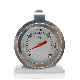 Stainless Steel Dial Microwave Oven Thermometer Gauge Bbq Meat Food Kitchen Cooking Instant Read