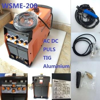 цена на WSME-200 AC DC Pulse TIG Welder Welding Machine Aluminium MMA  220V TIG-200 TIG-200P  SALE1