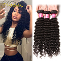 Nadula Products Malaysian Virgin Hair Deep Wave Malaysian Deep Wave Hair 7A Top Quality Deep Wave Malaysian Hair Bundle Deals