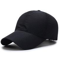Running Caps Adjustable Polyester Unisex Sunshade Quick Dry Men Women Baseball Hat Sportwear Summer Outdoor