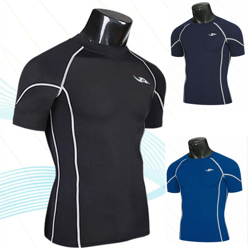 2015 neue Compression Base Layers Mens Casual T-Shirt Kurzhülse - Herrenbekleidung - Foto 2