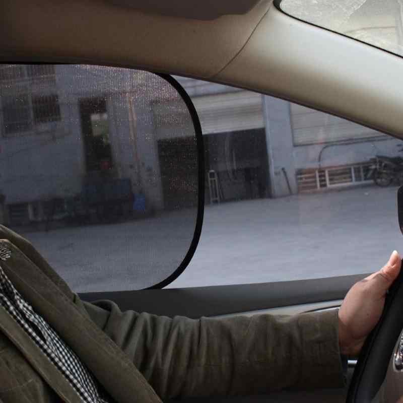 ปฏิบัติคู่พับหน้าต่างด้านข้างรถ Sun Shade Block