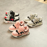 New 2018 European Sports M Running Baby Shoes High Quality Cool Girls Boys Shoes Unisex Fashion