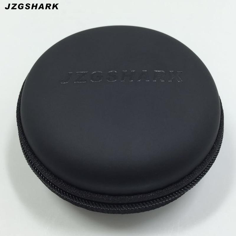 2017 Auricular Bolsa de Auriculares Estuche para Auriculares Encantos de Almacenamiento Duro Caja de Transporte Para Tarjeta de Auriculares Bluetooth Cable Usb Negro Venta libre