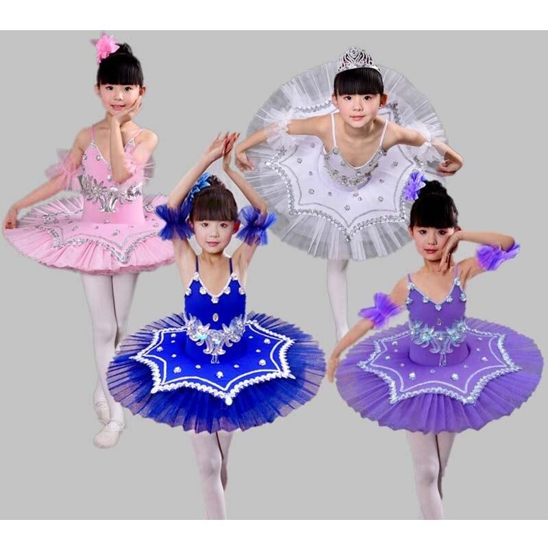 2018 New Kids Ballet Dance Costume Children Swan Lake Ballet Princess Dress Pancake Tutu Leotard Ballet Clothing For Girls декор ape ceramica lord ballet 40x20 комплект