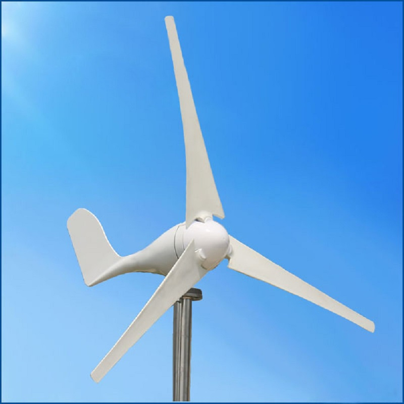 300W 12V 24V Horizontal Wind Generator Permanent Magnet  for Home Use