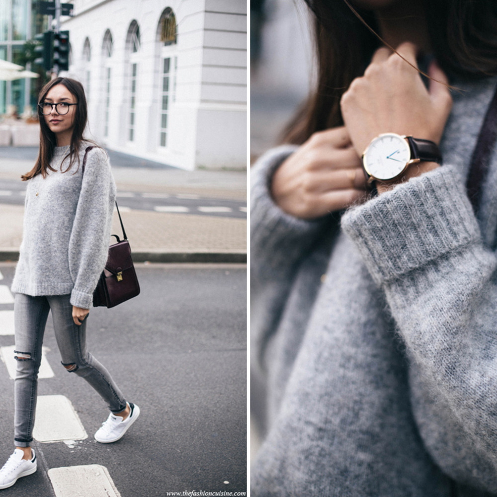 ... Style Girl Loose Pullover Sweater Autumn Women Knitted Sweater Pullovers  Gray. Previous. Next 2cf160b9b