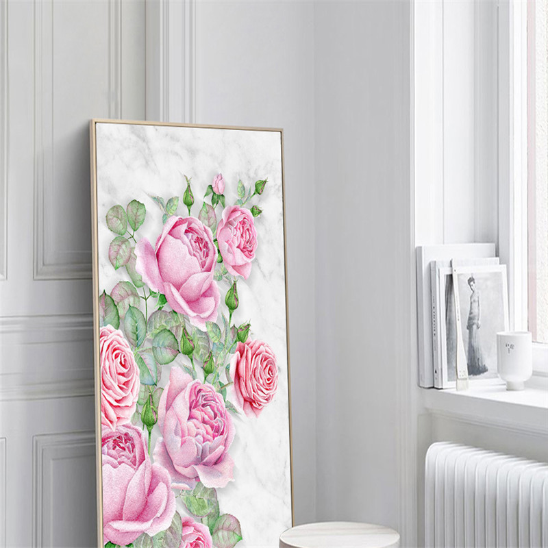 Hand-painted Oil Painting Wallpapers Vintage Flowers Wall Mural Custom 3D Photo Wall Papers Beauty Leaf Entrance Corridor Mural hua tuo landscapes hand painted oil painting