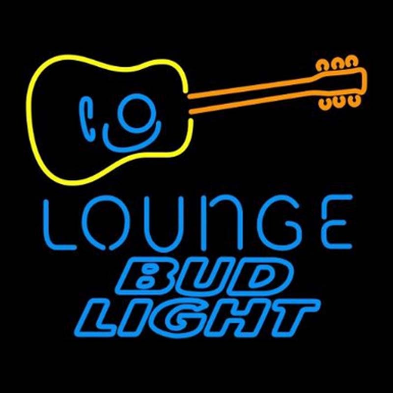 Bud Light Guitar Lounge Neon Signs Neon Beer Sign Real