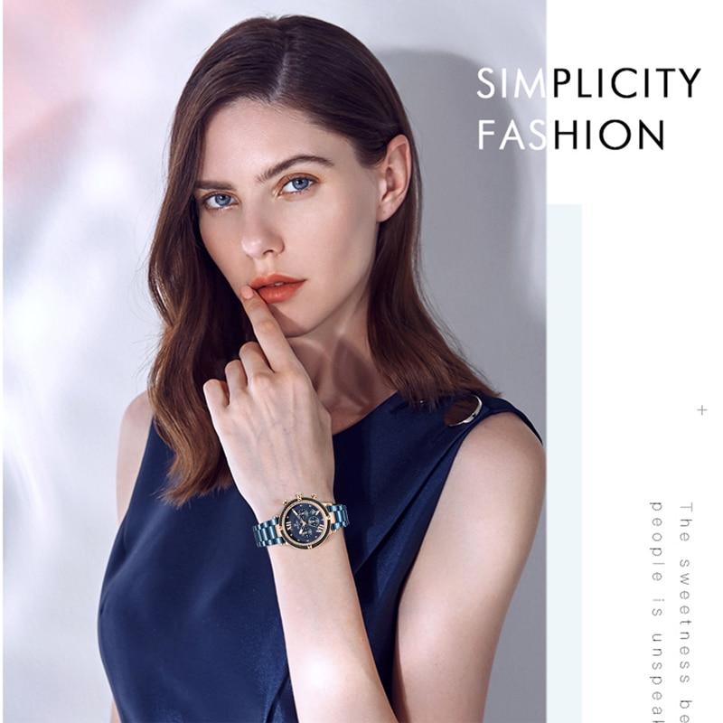 Top SaleREWARD Women Watches Quartz Waterproof Luxury Fashion for Dress Ladies Relogio Feminino