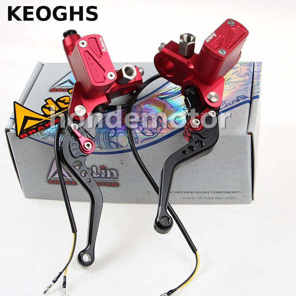 KEOGHS Universal Motorbike Cnc Adelin Px6 Motorcycle Brake Clutch Pump Master Cylinder Lever Handle For Yamaha Kawasaki Suzuki left 1 25mm universal motorcycle brake clutch master cylinder hydraulic pump lever for suzuki yamaha kawasaki honda