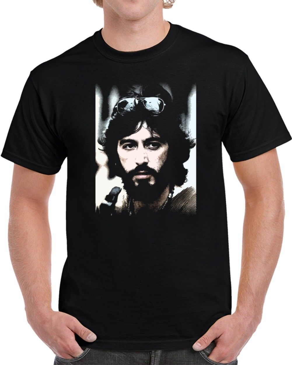Serpico Al Pacino 70s Cop Cult Movie Fan T Shirt Streetwear Funny Print Clothing Hip-Tope Mans T-Shirt Tops Tees image