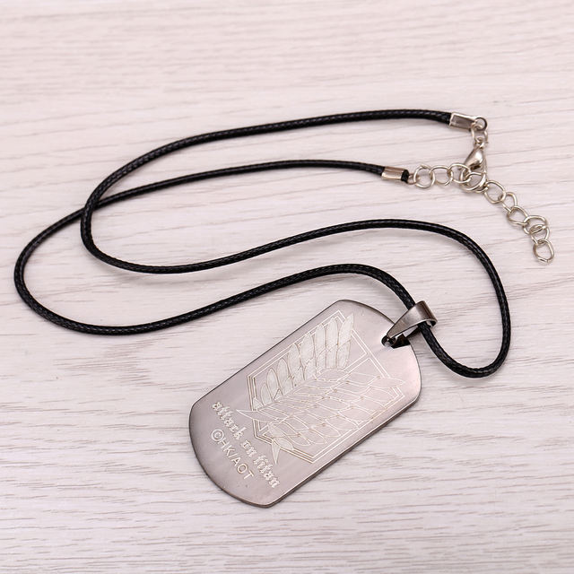 Attack On Titan Metal Necklace
