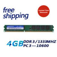 KEMBONA neuf scellé DDR3 1333 mhz 4 GB PC3 10600 4 GB ram de bureau mémoire/garantie à vie/livraison gratuite!!!