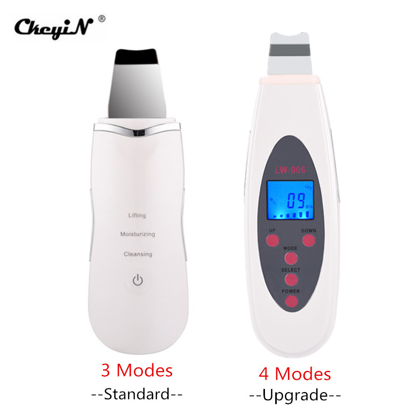 Facial Ultrasonic Skin Scrubber Spatula Infusion Exfoliation Ultrasound Face Cleaning Peeling Pore Cleaner Blackhead Remover 39