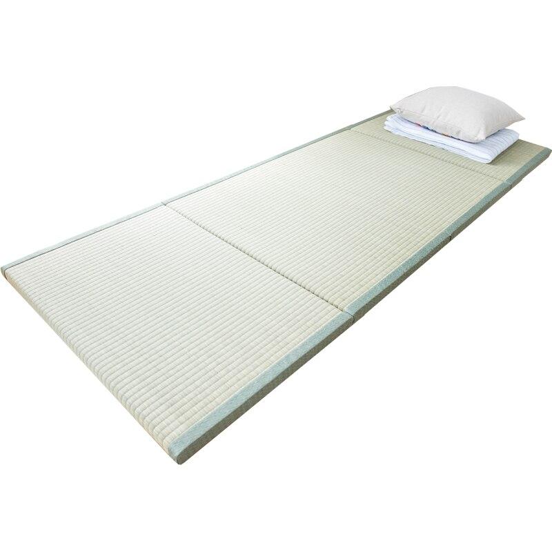 Wohnmöbel Matratzen Kreativ Hohe Qualität Natürliche Connut Palm Tatami Matratze Traditionellen Faltbare Boden Stroh Matte Matte Für Yoga Schlaf Tatami-matte Bodenbelag