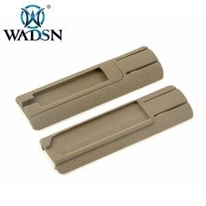 """Image 5 - WADSN Airsoft 4.125 """"ITI TD Scar Pocket Pannello Interruttore A Distanza Pad Coda Proteggere Slot Misura 20 millimetri rails PEQ15 light Scout Accessorio"""