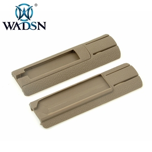 """Image 5 - Wadsnエアガン 4.125 """"iti td scarポケットパネルリモートスイッチパッドテール保護スロットは、 20 ミリメートルレールPEQ15 スカウトライトアクセサリー"""