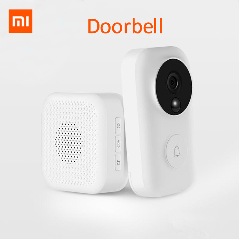 Xiaomi Zero AI Face Identification 720P IR Night Vision Video Doorbell Set Motion Detection SMS Push