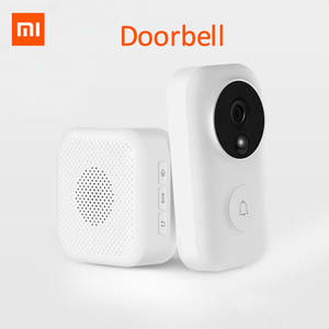 Xiaomi Doorbell-Set Ai-Face Identification Motion-Detection Night-Vision IR Zero Video