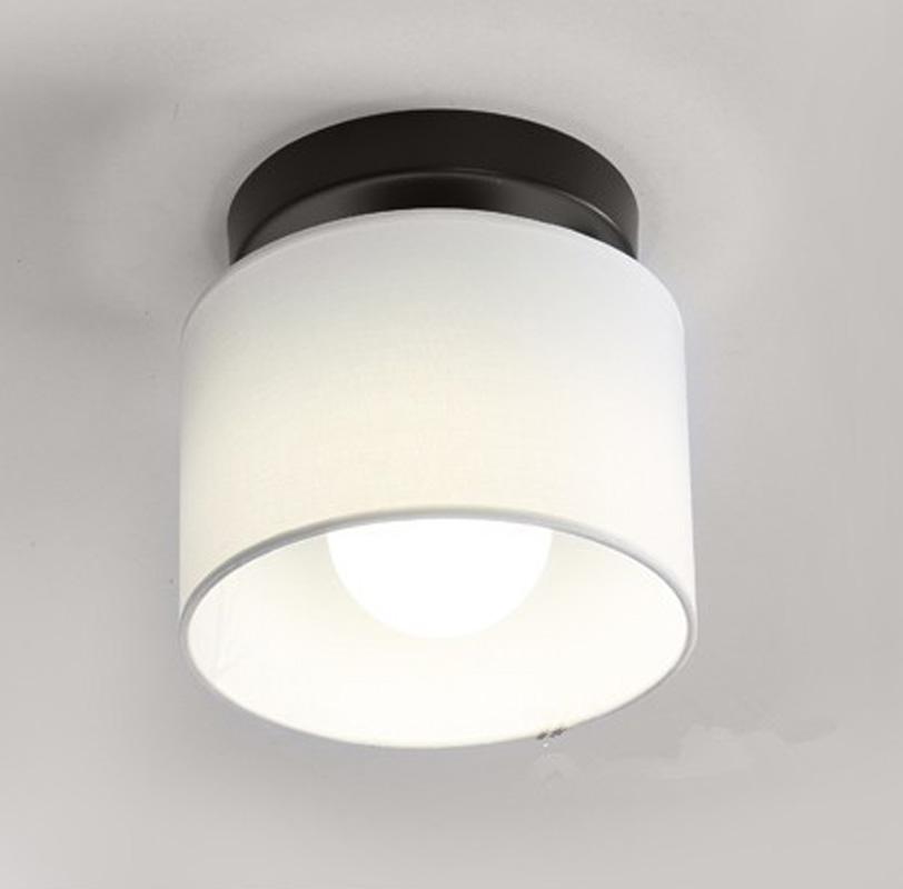 Modernen Weissen Tuch Lampenschirm Deckenleuchte 25 Cm Kinder Schlafzimmer Balkon Gang Wohnzimmer