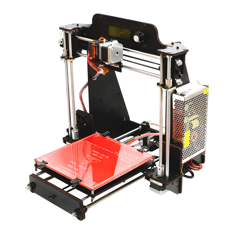 2017 For Geeetech I3 Pro W DIY 3D Printer 200x200x180mm Printing Size 1.75mm 0.3mm Nozzle Set Kit for DIYer Toys Tools geeetech pro w prusa i3 diy cloud 3d printer kit