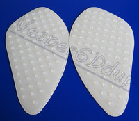 Free Shipping White General Quality Tank Traction Pad Side Gas Knee Grip Protector 3M For Honda