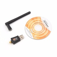 600Mbps Wireless USB 2 0 WiFi LAN Adapter Network Card With Aerial 802 11ac 5GHz 2