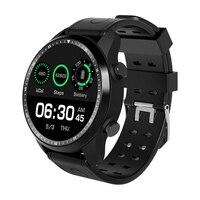 جديد KC03 ساعة ذكية بنظام أندرويد 6.0 OS ساعة ذكية 4G Wifi GPS 1GB + 16GB ساعة يد MTK6737 تدعم Whatsapp Facebook Youtube PK KW99