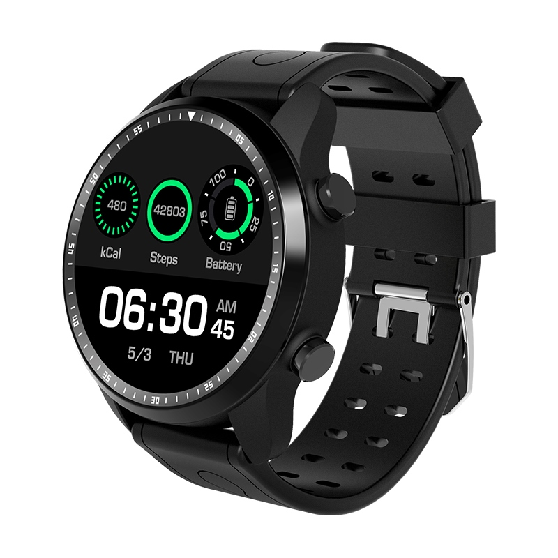 Nouveau KC03 montre intelligente Android 6.0 OS Smartwatch 4G Wifi GPS 1 GB + 16 GB montre-bracelet MTK6737 Support Whatsapp Facebook Youtube PK KW99